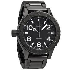 Nixon Ceramic 42-20 Black Dial Automatic Mens Watch A148001