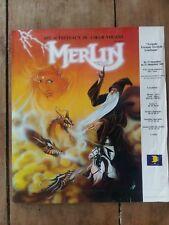 Plakat Merlin APC Tischböcke Herz Lenkrad *