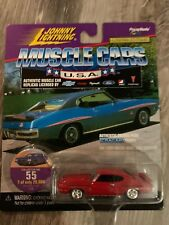 "JOHNNY LIGHTNING -  ""MUSCLE CARS U.S.A.""  - 1971 PONTIAG GTO JUDGE - DIECAST"