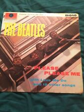The Beatles Please Please Me L P 1963 Rare First U.K Northern Songs Pressing VGP