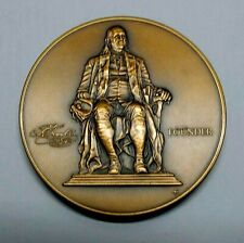 "The Franklin Mint 250th Anniversary Coin University Of Pennsylvania 3""-Dia"