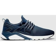 MEN'S CERTIFIED LONDON CT1000 TRAINERS LFW0001 - NAVY/WHITE - SIZE UK 8  **NEW**