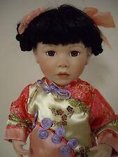 """18"""" Inch Tall Porcelain Japanese  Girl"""
