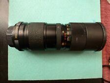 Vivitar lens 85-205