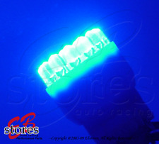 Set of 2pcs Blue Rear Signal 19 LED Light Bulb 7528 3496 2057 - 1157 1 Pair