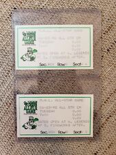 1998 Midwest League All-star Game Tickets Clinton Lumberkings Minor League