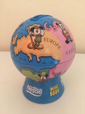 Nestle Mini Eggs Mickey Mouse Disney Globe Money Box Tin World Piggy Bank Easter