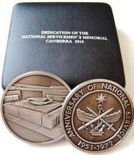 2010 Nashos Vietnam Servicemens Memorial Coin Medallion in Official Wallet