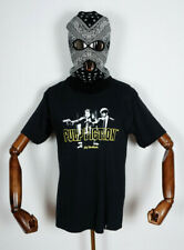 Huf Worldwide Skateboard T-Shirt Tee Pulp Fiction Era Black in M