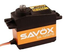 Savox SA-1258TG Super Speed Titanium Gear Digital Servo BACKLASH BLACK