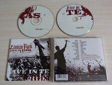 CD + DVD ALBUM LIVE IN TEXAS LINKIN PARK 12 TITRES 2003 + 17 TITRES SUR DVD