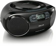 PHILIPS boom box az329/94 Color Black - Manufacturer Warranty-Bill