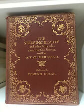 Edmund Dulac circa 1910 The Sleeping Beauty & Other Fairy Tales Hardcover