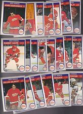 1982 - 83 OPC Team SET Lot of 21 Detroit RED WINGS NM+ o-pee-chee LARSON GARE