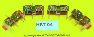 HRT04 hornby oo/ho/n 4x standard pin point motors - tested/working/instructions