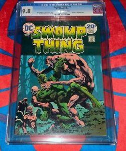 Swamp Thing #10 CGC 9.8  🔥🔥 1974 🔥🔥