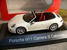 1/43 Herpa Porsche 911 Carrera S Cabriolet 991 / II weiß SONDERPREIS 29,99 €