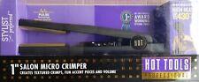 "HOT TOOLS Micro Gold 1"" Crimper Iron #1174CR"