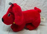 "Scholastic POSEABLE CLIFFORD THE BIG RED DOG 10"" Plush Stuffed Animal Toy"