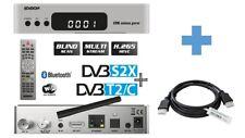 EDISION OS NINO PRO Full HD Linux Receiver mit DVB-S2X & DVB-C/T2 + HDMI-Kabel