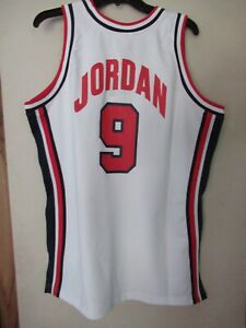 Michael Jordan Vintage White 1992 Team USA Basketball Classis Mitchell & Ness