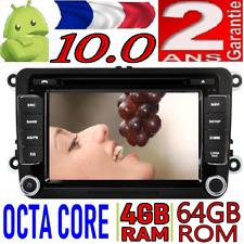 ANDROID 10.0 VW JETTA/TIGUAN/PASSAT VOITURE RADIO DVD GPS USB CAR WIFI 4GB RAM