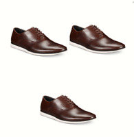 Bar III Men's Warner Casual Smooth Lace-Up Oxfords Brown Leather