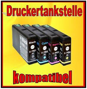 kompatibel Epson 79 T7901 T7902 T7903 T7904 Workforce 4630 4640 5110 5190 5620
