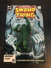 Swamp Thing#51 Incredible Condition 9.0(1986) Justice League!