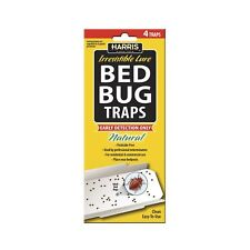 Harris Bed Bug Early Detection Glue Traps (4/Pack) 4 Traps