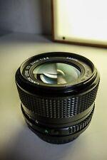 Canon 24mm f2.8 FD Obiettivo Grandangolare in ottime condizioni + UV + adattatore NEX