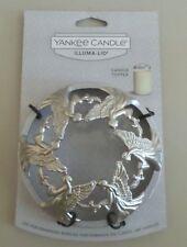 NEW Yankee Candle Illuma-Lid Metal Jar Candle Topper Angel-IMPROVES CANDLE BURN