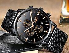 Uhren Herren Luxus Marke LIGE Wasserdicht Sport Analog Quarzuhr Männer