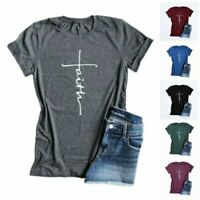 Women Baggy Oversized Loose Fit Short Sleeves Ladies Top T shirt