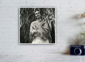 Frida Kahlo in her garden, 1951 - Vintage Photograph print / Mexico / Decor