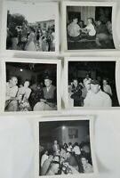 "Aaaayyyy! That's the 50's Nice Lot of 5 Group Photos from the 1950's 3"" X 3"""