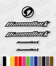 DIAMONDBACK Die-cut Decal Sticker sheet (cycling, mtb, bmx, bike, frame) - V1