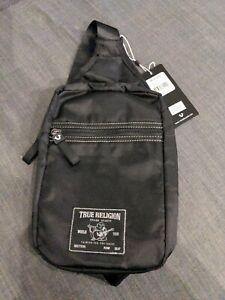 True Religion Yeta, Crossbody/Waist Bag, Concert Ticket Black TR101141 Chest Bag