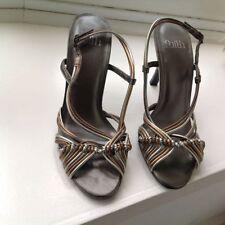 Faith 100% Leather Stiletto High (3-4.5 in.) Women's Heels