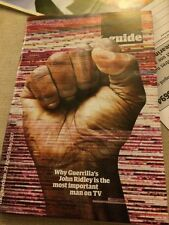 Guardian Guide Magazine April 2017 John Ridley Sarah Beeney Battlestar Galactica