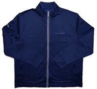 CALLAWAY GOLF Lockheed Martin Full Zip Jacket Weather Series Blue Large L ~ New