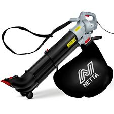More details for netta leaf blower and vacuum 3in1 3000w with rake garden vac & shredder 35l bag