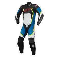 Tute in pelle e altri tessuti da corsa Alpinestars per motociclista