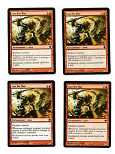 4x Lust for War EX Rise of the Eldrazi Mtg Magic EDH 4x x4