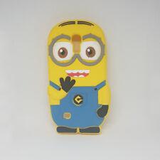 Funda Carcasa Silicona 3D Minion Samsung Galaxy S4 MINI i9190