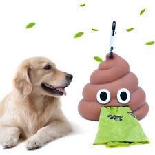 Outdoor Portable Waste Bag Dispenser Carrier Pet Dog Poop Bag Holder Storage Box