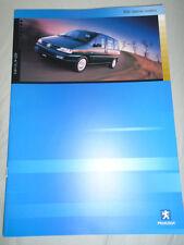 Peugeot 806 Special Models range brochure Mar 2001