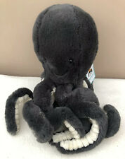 NEW Jellycat Little Inky Octopus Small Soft Toy Comforter Black Grey BNWT