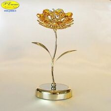GIRASOLE SU BASE DELUXE GOLD SWAROVSKI ELEMENTS