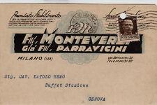 #MILANO: testatina- F.LLI MONTEVERDI gia' F.lli Parravicini- FABBRICA CARTA ...
